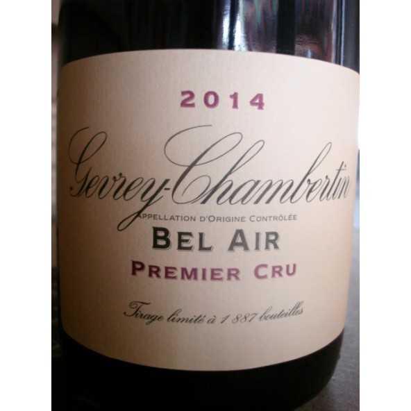 GEVREY CHAMBERTIN 1er cru Bel Air Domaine de la Vougeraie 2014
