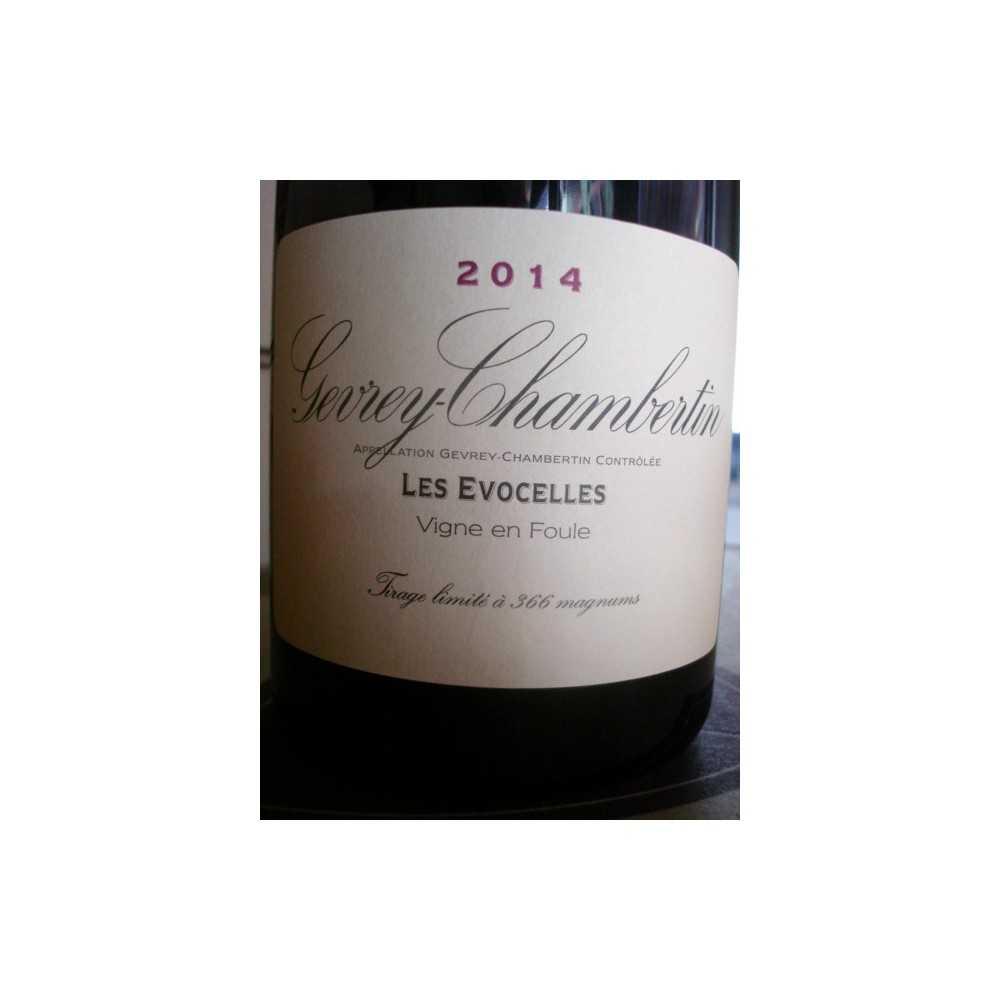 GEVREY CHAMBERTIN Les Evocelles en Foule Magnum Dom. de la Vougeraie 2014