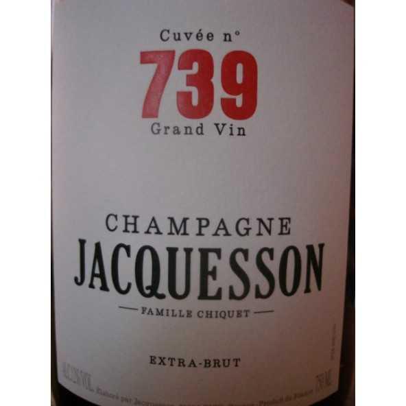 CHAMPAGNE JACQUESSON Cuvée 738