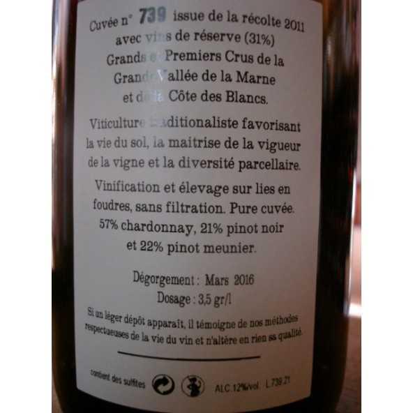 CHAMPAGNE JACQUESSON Cuvée 739