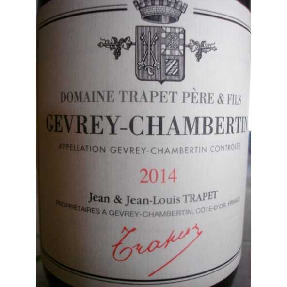 GEVREY CHAMBERTIN OSTREA TRAPET 2014
