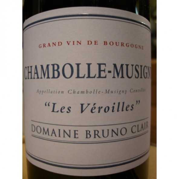 CHAMBOLLE MUSIGNY Les Veroilles Bruno Clair 2012