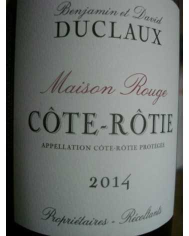 COTE ROTIE DUCLAUX MAISON ROUGE 2013