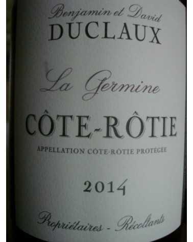 COTE ROTIE DUCLAUX LA GERMINE 2011