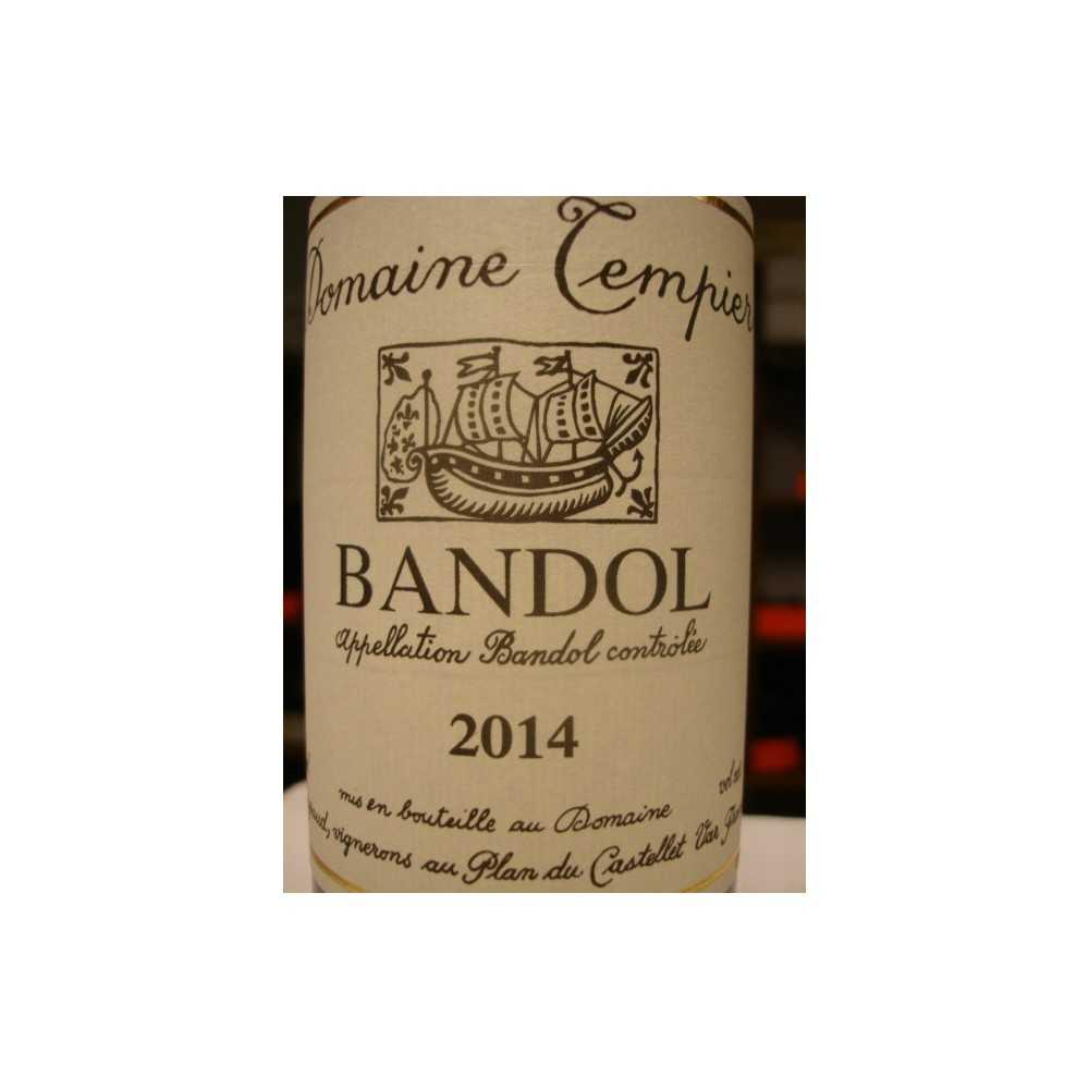 BANDOL ROUGE DOMAINE TEMPIER 2013