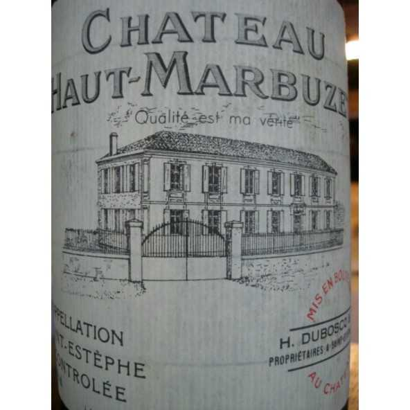 CHATEAU  HAUT MARBUZET 1996