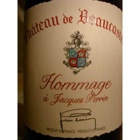 CHATEAUNEUF DU PAPE BEAUCASTEL rouge Hommage A Jacques Perrin 2012