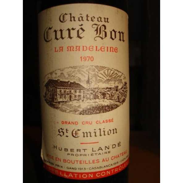 CHATEAU CURE BON LA MADELEINE 1970