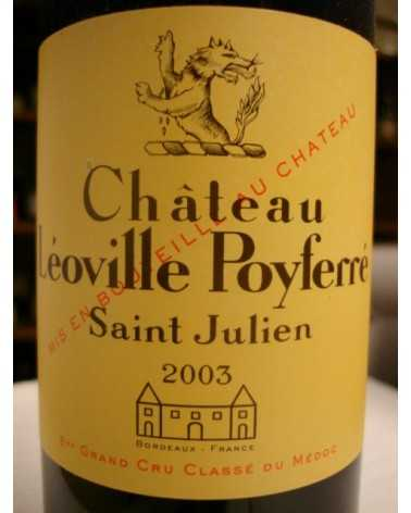 CHATEAU LEOVILLE POYFERRE 2003