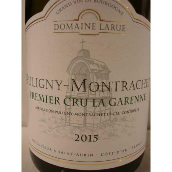 Puligny Montrachet 1er cru La Garenne Domaine Larue