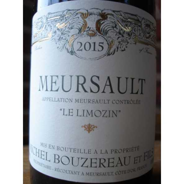 MEURSAULT Le Limozin MICHEL BOUZEREAU 2015