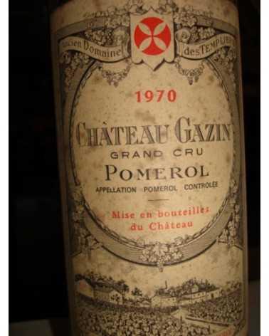 CHATEAU GAZIN 1970