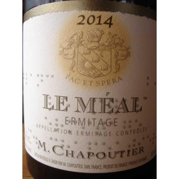 HERMITAGE BLANC Le Méal CHAPOUTIER 2012