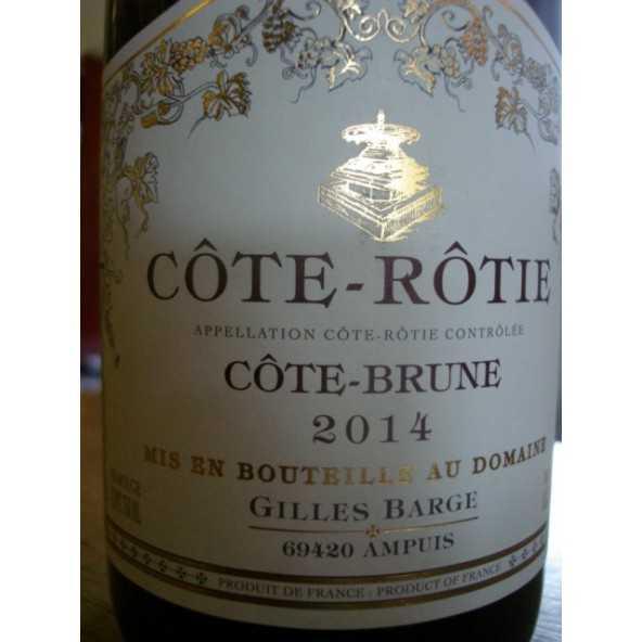 COTE ROTIE COTE BRUNE DOM. BARGE 2012