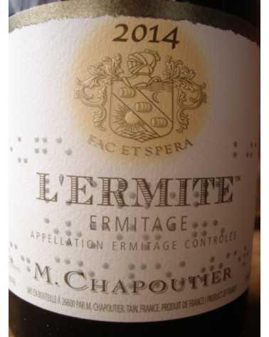 HERMITAGE L'ERMITE ROUGE CHAPOUTIER 2012