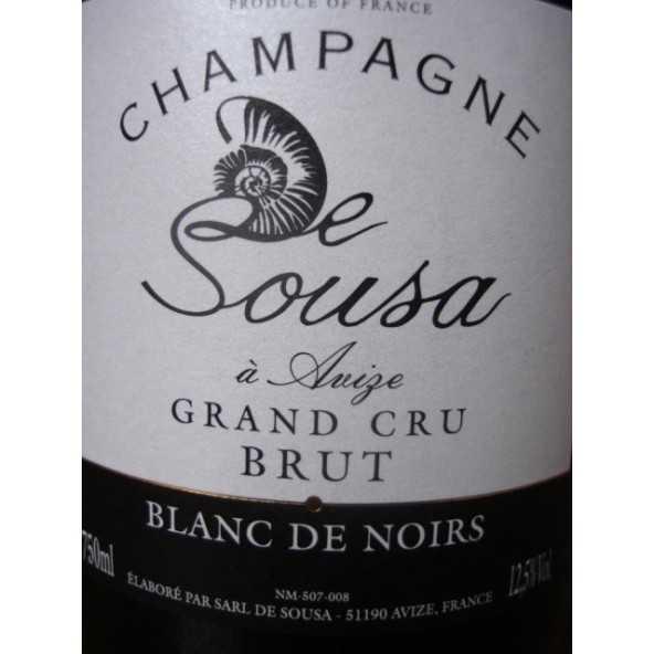 CHAMPAGNE DE SOUSA BLANC DE NOIRS