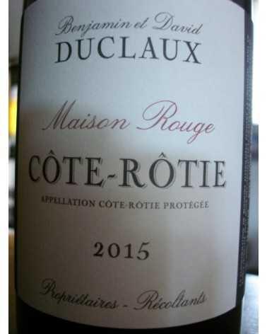 COTE ROTIE DUCLAUX MAISON ROUGE 2015