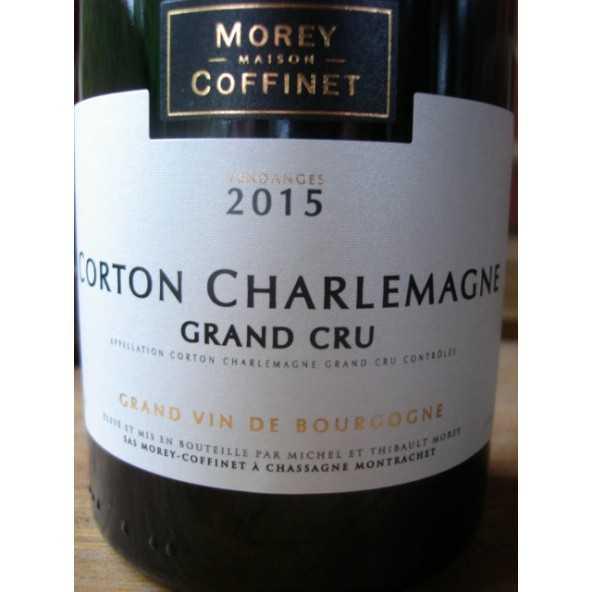 CORTON CHARLEMAGNE Grand Cru MOREY-COFFINET 2015