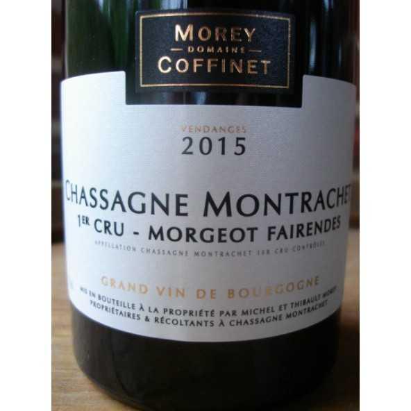 CHASSAGNE MONTRACHET 1er CRU MORGEOT FAIRENDES MOREY-COFFINET