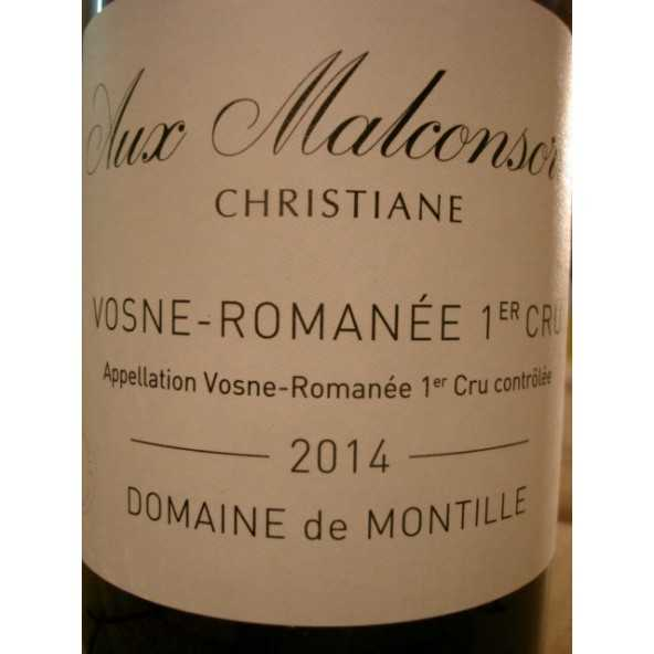 VOSNE ROMANEE 1er Cru Les Malconsorts Christiane De Montille 2014