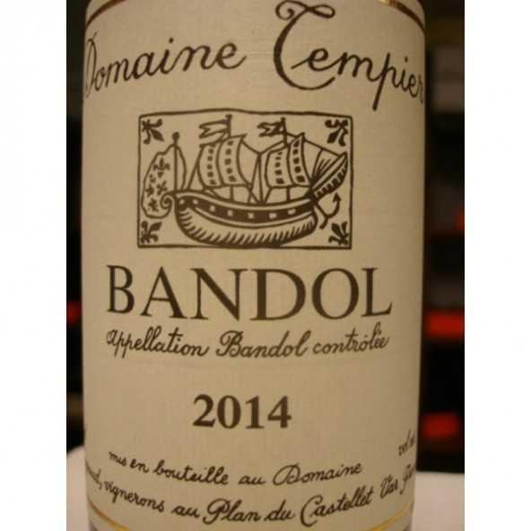 BANDOL ROUGE DOMAINE TEMPIER MAGNUM 2013