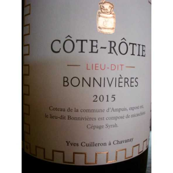 COTE ROTIE BONNIVIERES YVES CUILLERON 2015