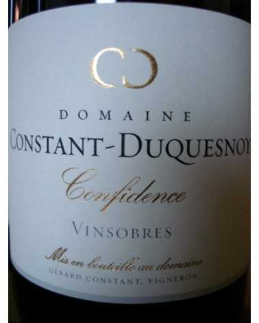 VINSOBRES  Confidence Domaine Constant Duquesnoy
