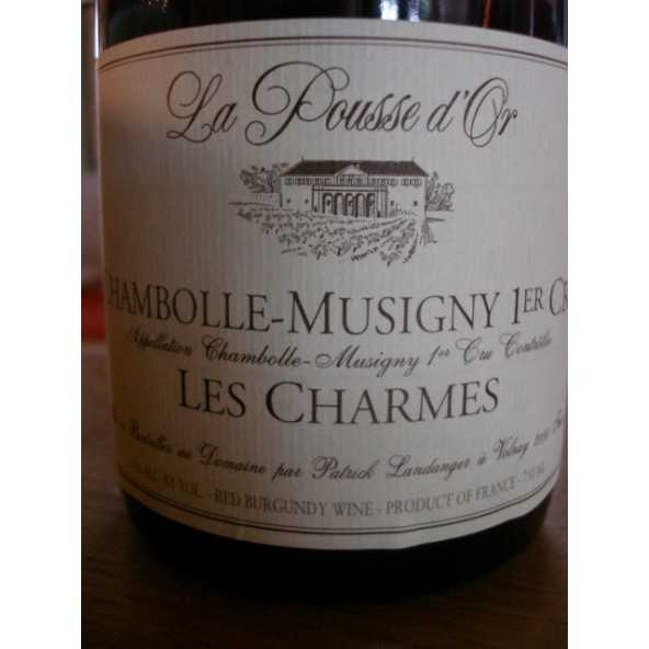 CHAMBOLLE MUSIGNY 1er CRU LES CHARMES POUSSE D'OR 2015