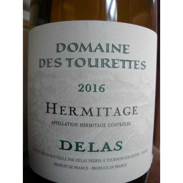 HERMITAGE BLANC Domaine des Tourettes DELAS