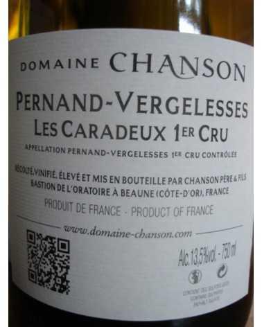 PERNAND VERGELESSES BLANC LES CARADEUX CHANSON 2015