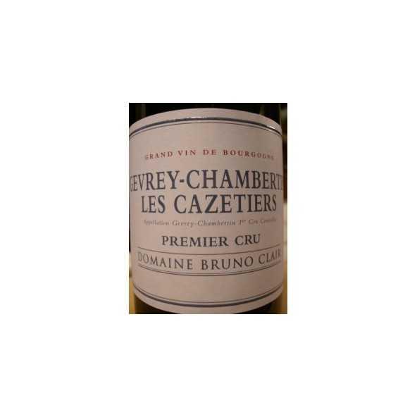 GEVREY CHAMBERTIN 1er CRU Cazetiers BRUNO CLAIR