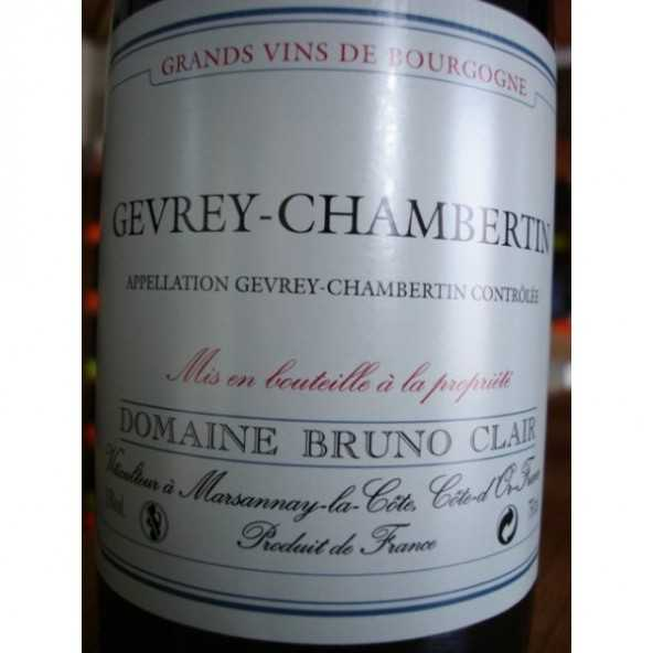 GEVREY CHAMBERTIN BRUNO CLAIR