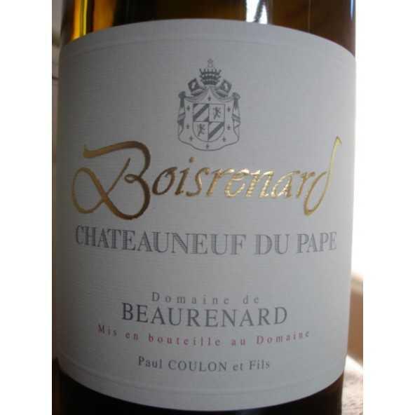 CHATEAUNEUF DU PAPE BOISRENARD Blanc Domaine de BEAURENARD