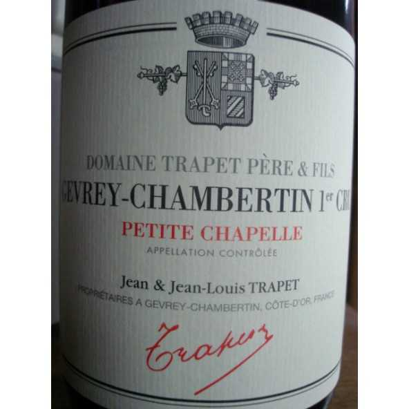 GEVREY CHAMBERTIN 1er cru Petite Chapelle TRAPET