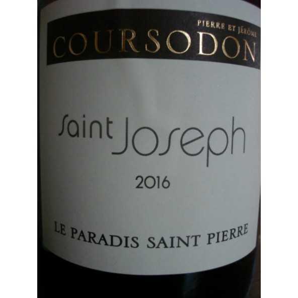SAINT JOSEPH Blanc Paradis Saint Pierre Coursodon 2014