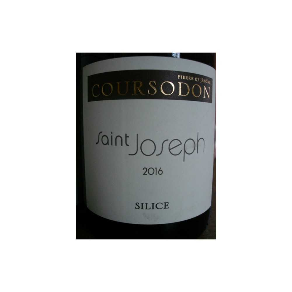 SAINT JOSEPH rouge SILICE Coursodon 2015