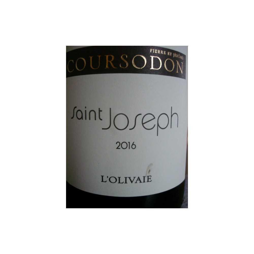SAINT JOSEPH rouge L'Olivaie Coursodon 2015