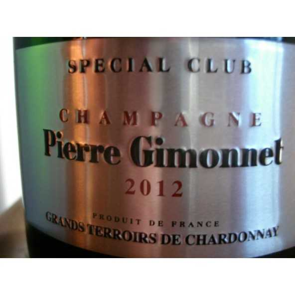 CHAMPAGNE GIMONNET  SPECIAL CLUB 2009