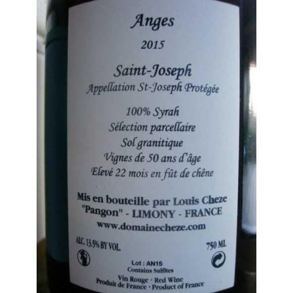 SAINT JOSEPH ROUGE LES ANGES LOUIS CHEZE 2015