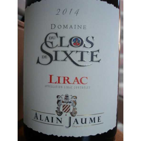 LIRAC CLOS DE SIXTE ALAIN JAUME 2015
