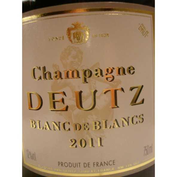 CHAMPAGNE DEUTZ BLANC DE BLANCS
