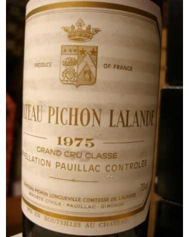 CHATEAU PICHON LALANDE 1975