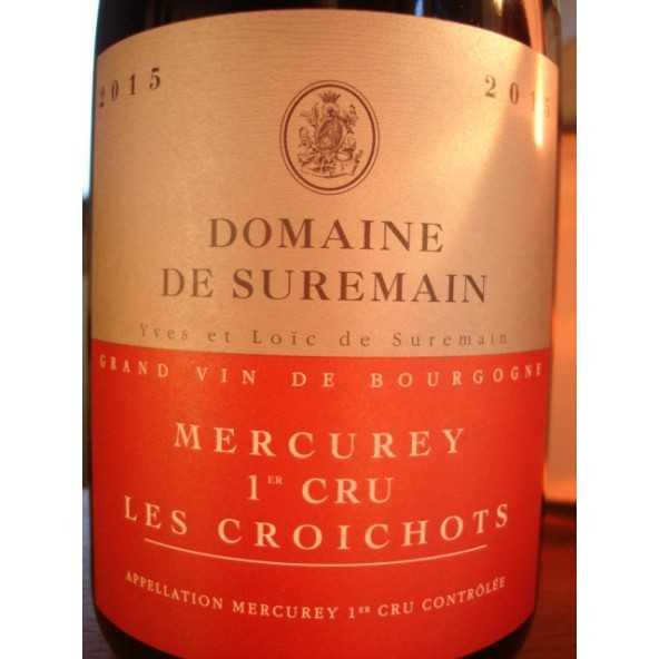 MERCUREY 1er CRU LES CROICHOTS Domaine de Suremain