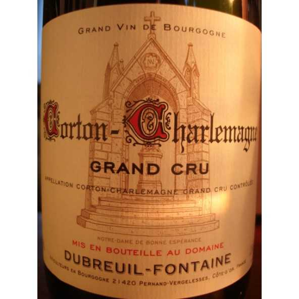 CORTON CHARLEMAGNE DUBREUIL FONTAINE