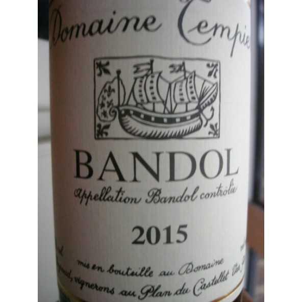BANDOL ROUGE DOMAINE TEMPIER 2015