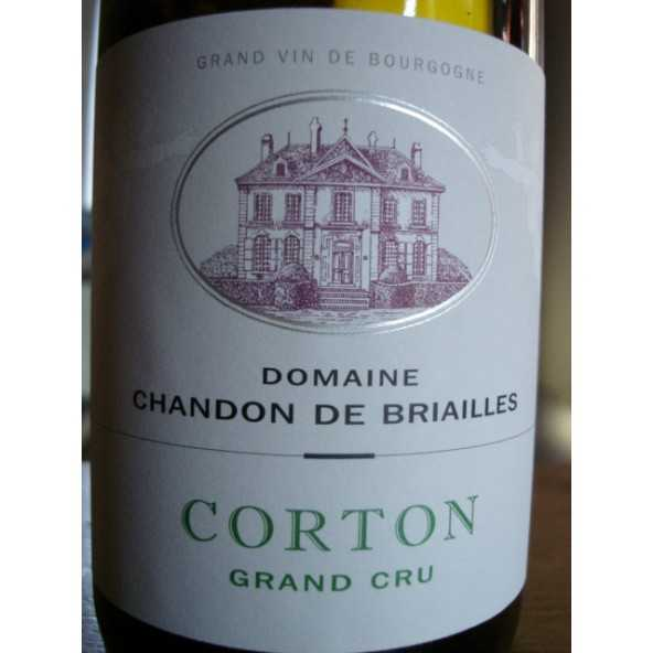 CORTON GRAND CRU BLANC CHANDON DE BRIAILLES