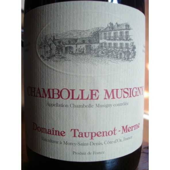 CHAMBOLLE MUSIGNY TAUPENOT MERME