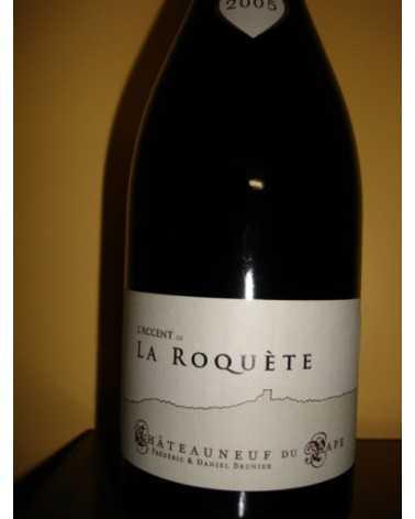 CHATEAUNEUF L'ACCENT de la ROQUETE rouge 2005 Dom. Brunier
