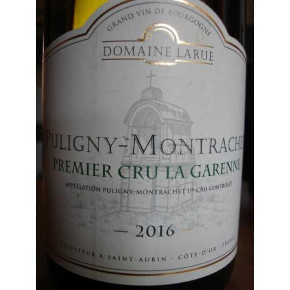 Puligny Montrachet 1er cru La Garenne Domaine Larue 2016