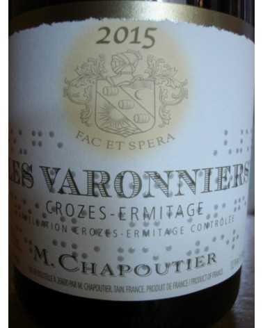 CROZES HERMITAGE ROUGE Les Varonniers CHAPOUTIER 2014